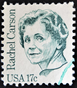 UNITED STATES OF AMERICA - CIRCA Stamp printed in USA shows Rachel Carson circa 1980